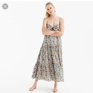 🆕️ J. Crew - Liberty Print Floral Maxi Dress